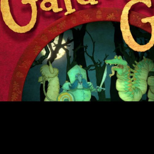 Book cover for 'Galdo's Gift animation