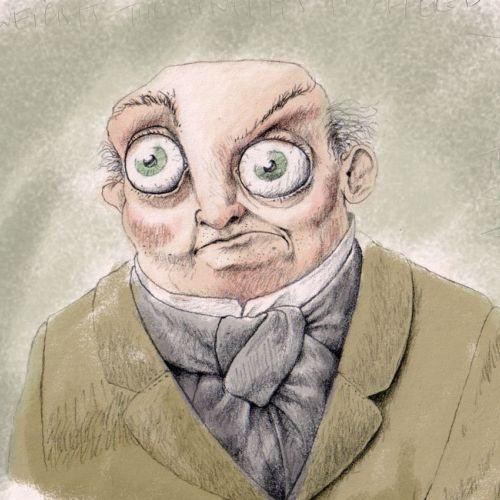 Dr Hoot portrait character