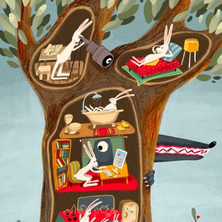 Tatsiana Burgaud - Ludon-Medoc, France based illustrator