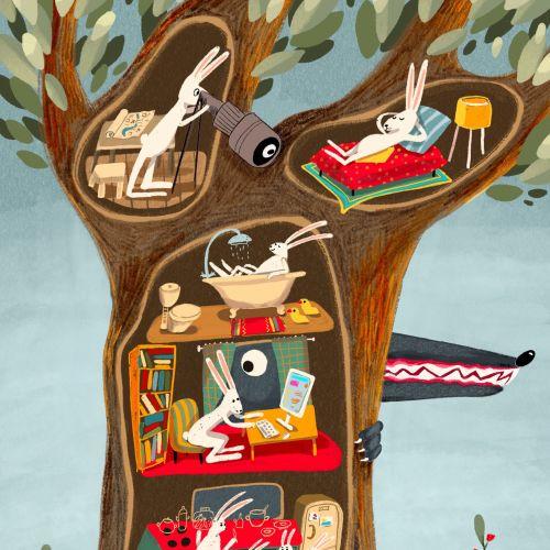 Tatsiana Burgaud Animals Illustrator from France