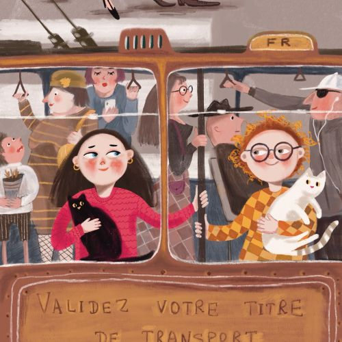 Tatsiana Burgaud Children Illustrator from France