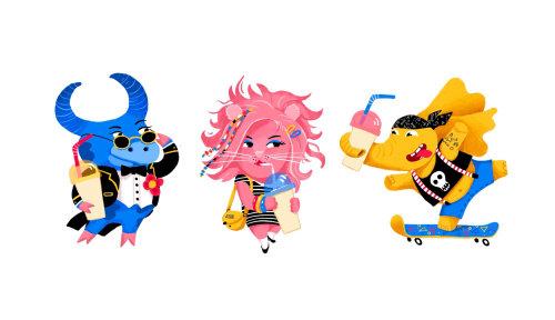 Personajes animales