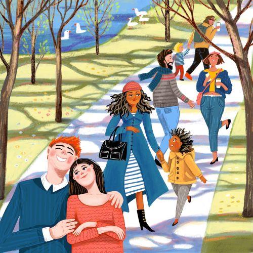 Tatsiana Burgaud Lifestyle Illustrator from France