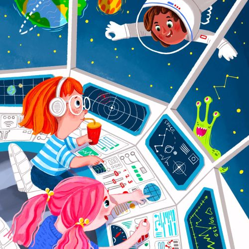 Tatsiana Burgaud Educational Illustrator from France