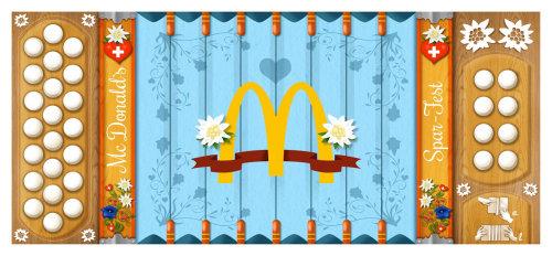 Graphic design of McDonald's logo