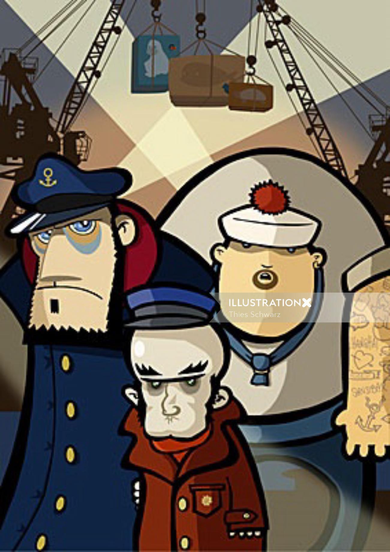 Harbour shady crew