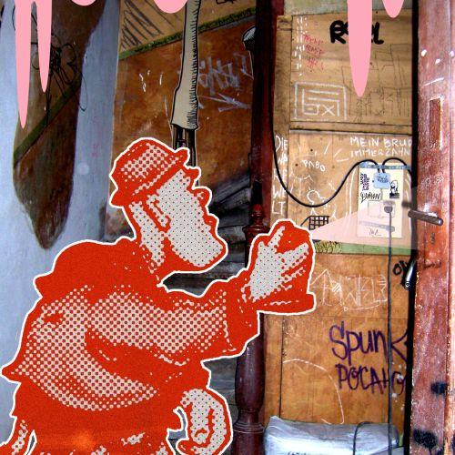 Grafitti Artist on streets