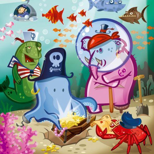 Underwater treasure hunt