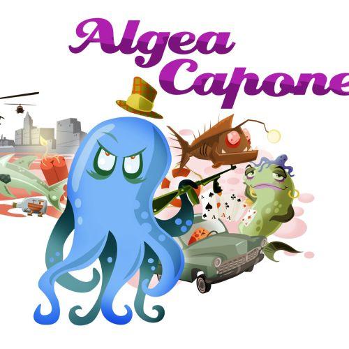 Underwater gangster Octopus