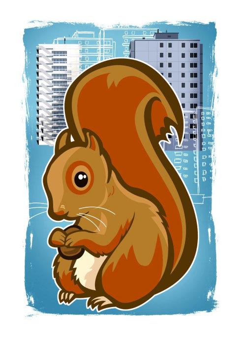 Thies Schwarz illustrator - animal ilustration