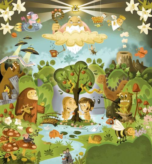Thies Schwarz illustrator - animation illustration