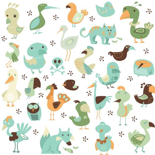 Pattern of birds
