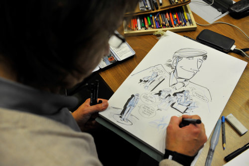 Sketch Illustration Portrait