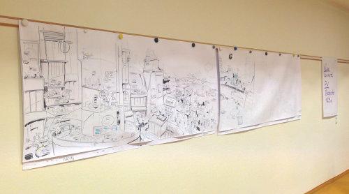 铅笔素描建筑图
