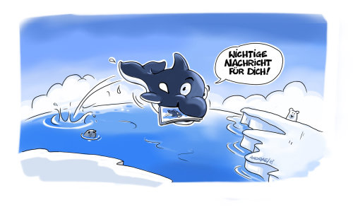 Loose Illustration of Flying fish