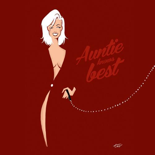 Auntie fashion illustration