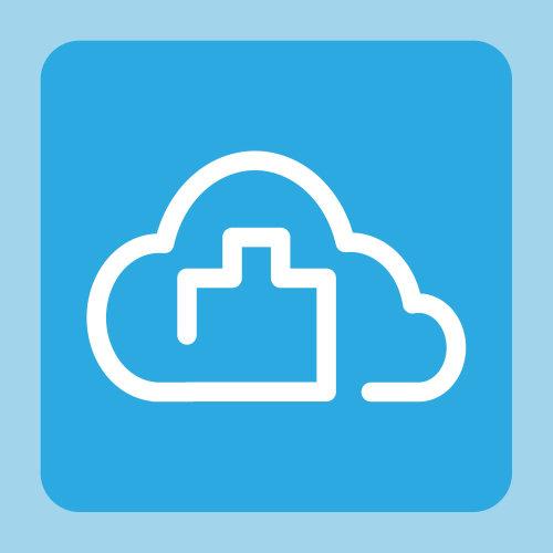 Projeto infográfico de nuvem