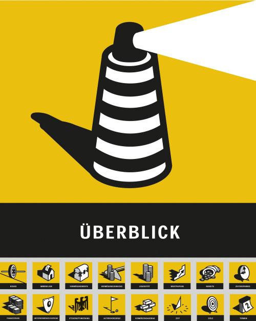 Graphic design of uberblick