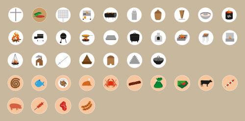 Ilustração de ícones de infográfico