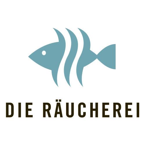 Logotipo gráfico para fumeiro de peixes