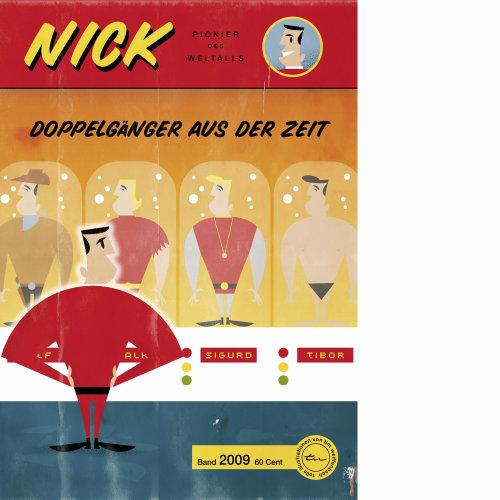doppelgangers do personagem de desenho animado nick