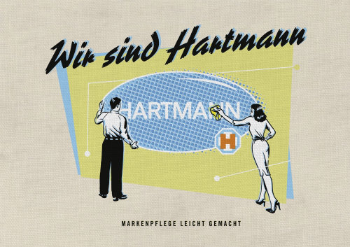 Design de cartaz para Hartmann