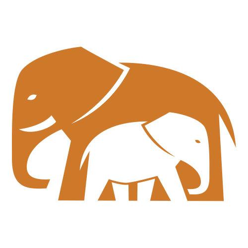 Ilustração do vetor de elefante