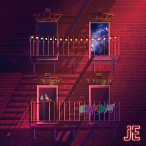 JE BEYOND EP专辑封面设计