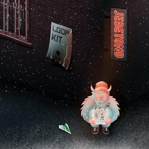 蒂娜梅的 Loop Kit 音乐专辑封面艺术