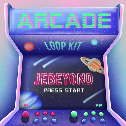 音乐制作人 Jebeyond 的 Arcade Loop Kit 音乐封面插图