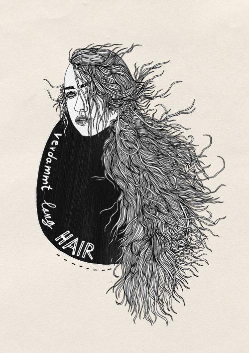 长发的人女人