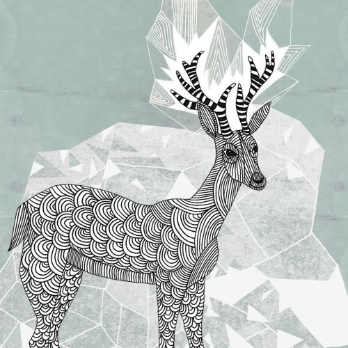 Animals Deer art