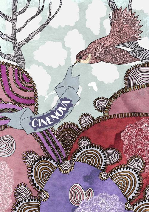 动物cinenova鸟