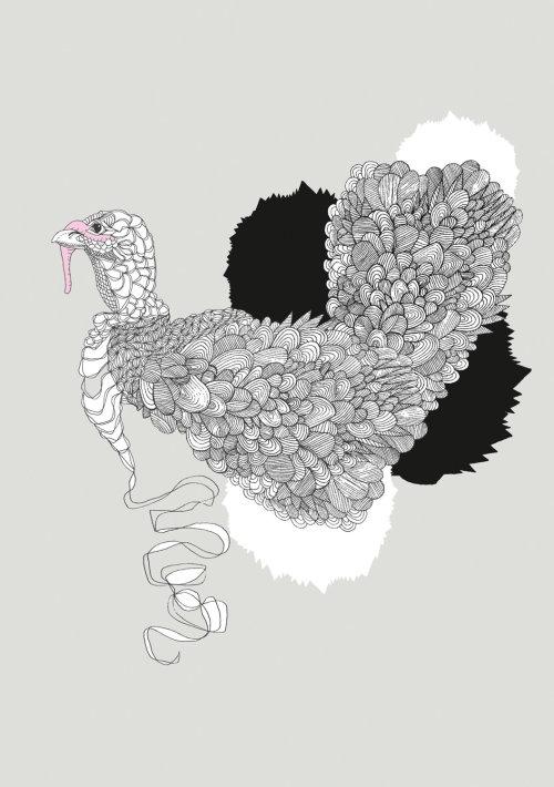 Art animalier de coq