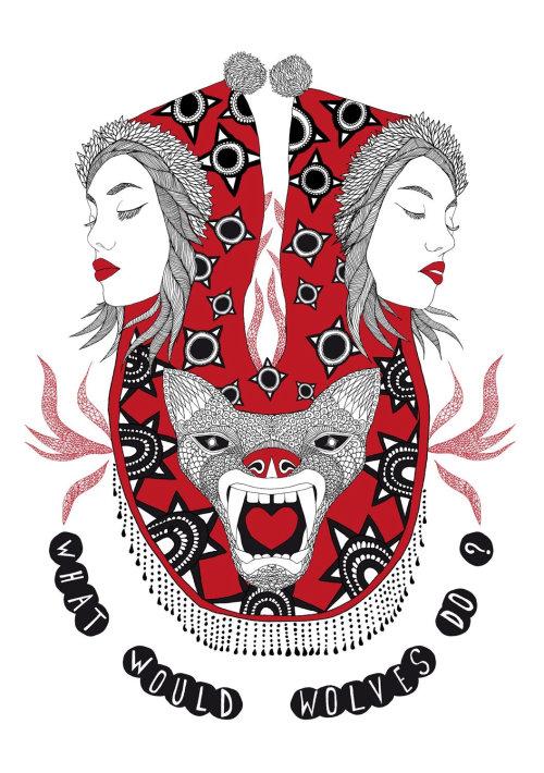 幻想女孩和狐狸