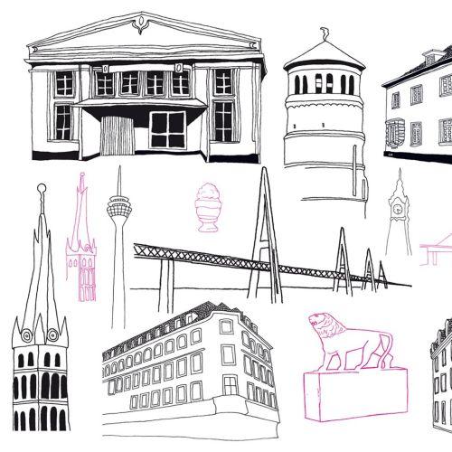 Tobias Göbel Pen & ink illustrator. Germany