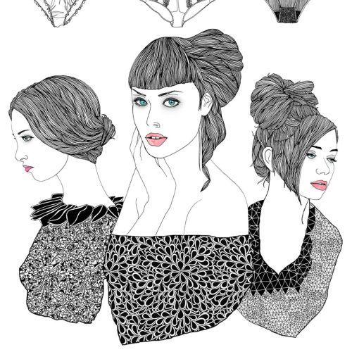 Tobias Göbel Beauty Illustrator from Germany