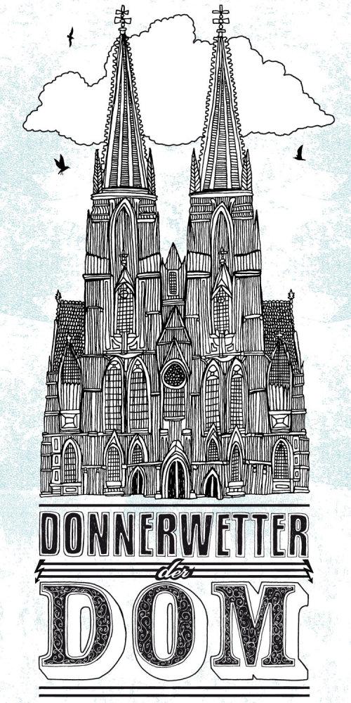 Donnerwetter建筑教堂