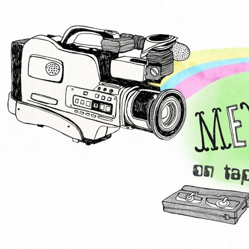 Lettering Memories video tape