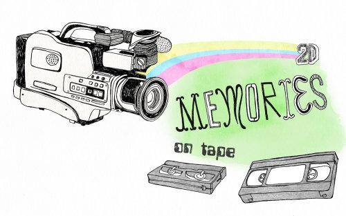 刻字记忆录像带