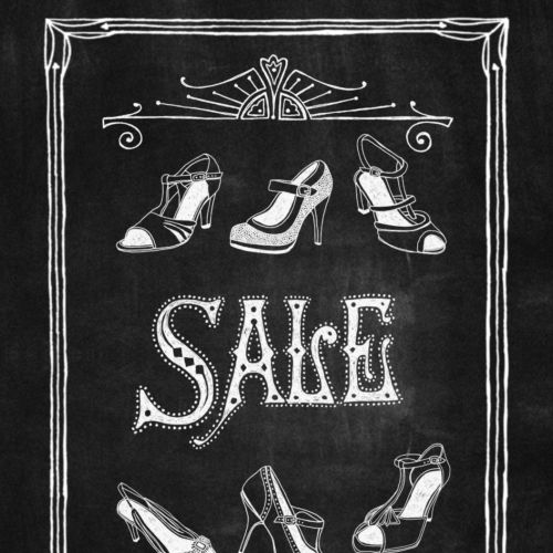 Graphic sales footwear