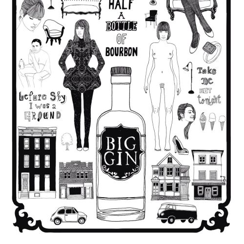 Line Big Gin and twin sisters