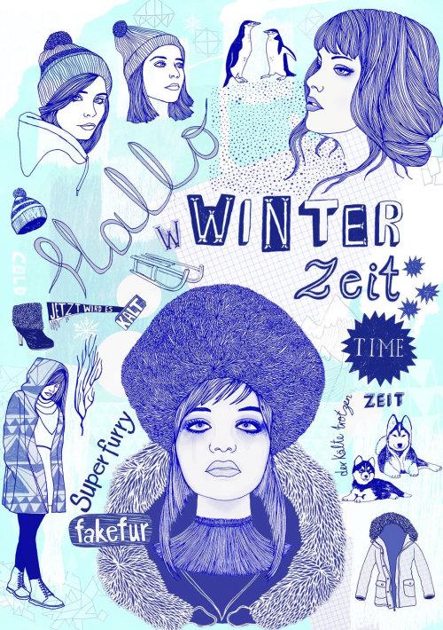 冬季时装系列