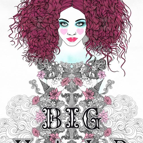 Fashion Woman Big Hair