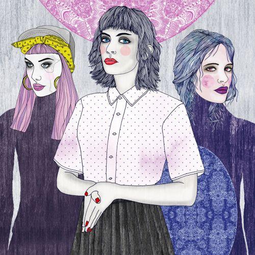 Fashion illustration for girls