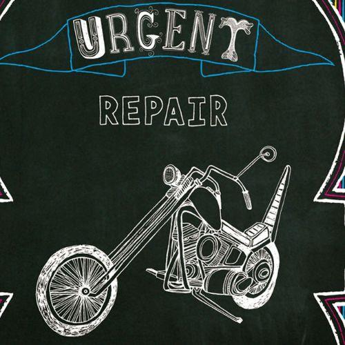 Lettering Urgent Repair