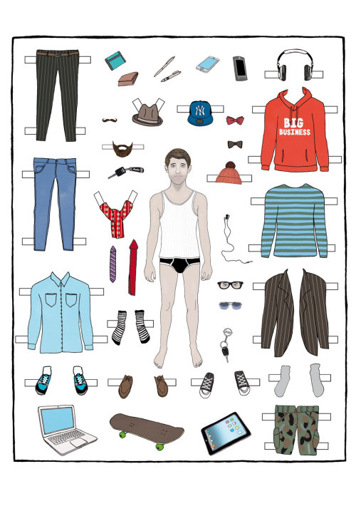 Fashion mens dress