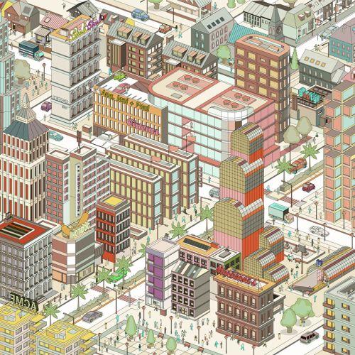 Tobias Wandres Maps Illustrator from Germany