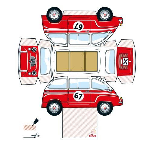 Technical inside of car