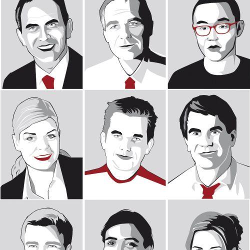 portrait of multiple people